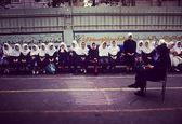یک مدرسه دخترانه در سال 76 +عکس