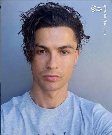 چهره عجیب رونالدو +عکس