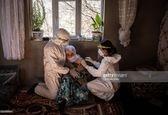 تزریق واکسن کرونا به یک زن مسن در ترکیه +عکس