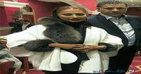 همسر علی دایی با مانتو میلیونی +عکس