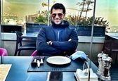 حس و حال خوب روزبه حصاری در رستوران لاکچری+عکس