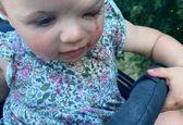 دختربچهای که خون گریه میکند! +تصاویر