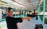 اسلحه کشی هانیه غلامی+عکس