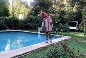 شبنم قلی خانی در خانه لاکچری + عکس