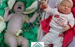 تولد نهمین فرزند خانواده یزدی با ۶ کیلو وزن+عکس