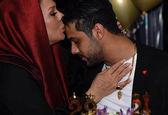 بوسه زیبای نسرین مقانلو +عکس