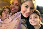همسر دوم «بابک جهانبخش» و فرزندانش  +عکس