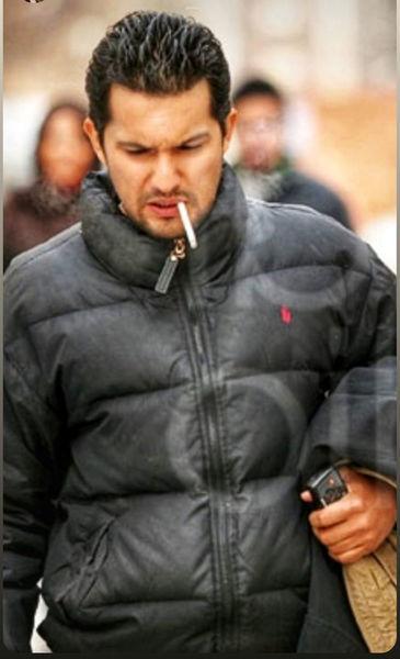 سیگار کشیدن حامد بهداد سوژه شد+ عکس