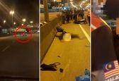 عاقبت هولناک خوابیدن راننده در پشت فرمان! +عکس و فیلم