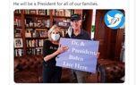 عکس معنادار از جیل بایدن در سمت بانوی اول آمریکا