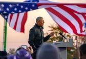 باراک اوباما با کاپشن احمدی نژاد+ عکس