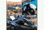 عکس وحشتناک از تصادف هولناک کامیون با پژو
