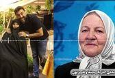 گریه های مادرانه رابعه مدنی برای علی انصاریان+فیلم