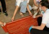 کرم 18 متری از شکم مرد تایلندی خارج شد! +عکس